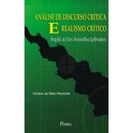 ANÁLISE DE DISCURSO CRÍTICA E REALISMO CRÍTICO - Implicações Interdisciplinares